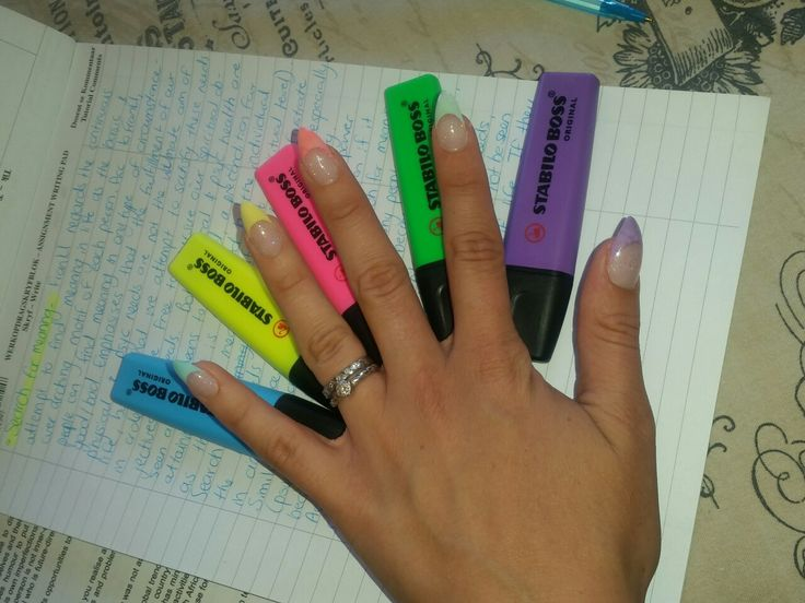 #french #pastel #highlighters #colour