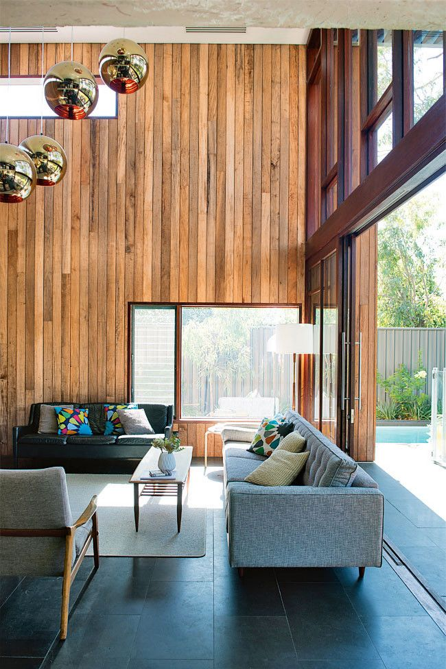 1. northern exposure This home's floor-to-ceiling north-facing windows take advantage of the winter sun and links...