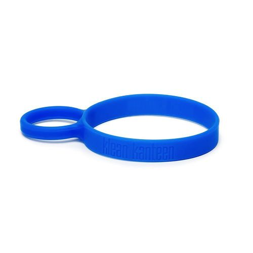 Klean Kanteen Silicone Pint Cup Ring Blue Removable Loop Handle Dishwasher Safe