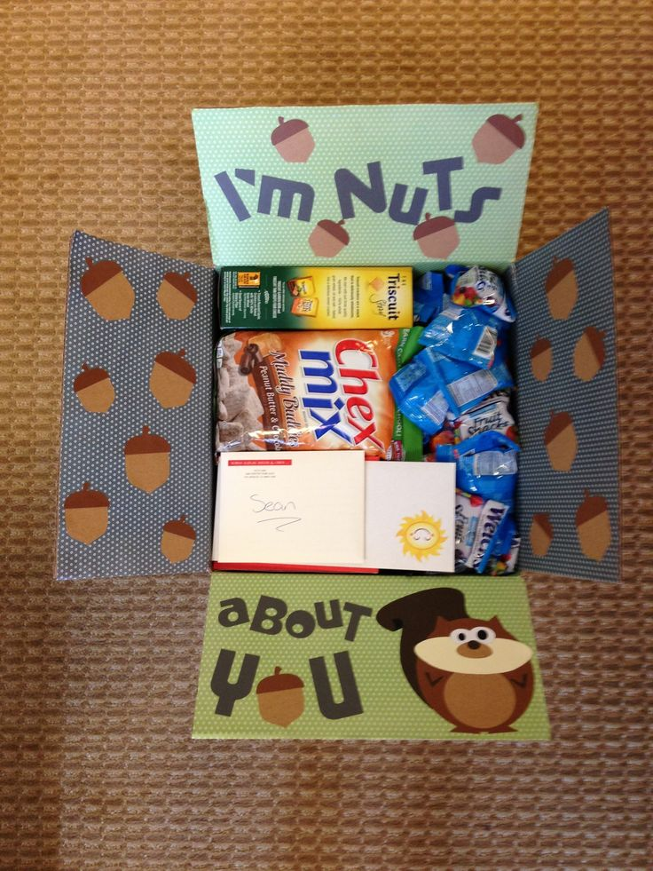 Deployment care package #5: I'm nuts about you!