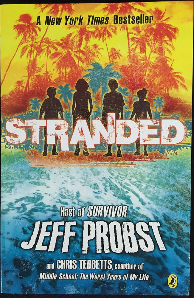 Stranded by Jeff Probst from July, 2015's Nerd Block Jr. for Girls