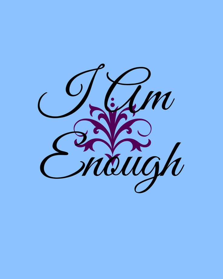 74 best affirmations images on pinterest affirmations positive i am enough affirmation printable 8x10 poster typography instant digital downloadable art decor fandeluxe Image collections