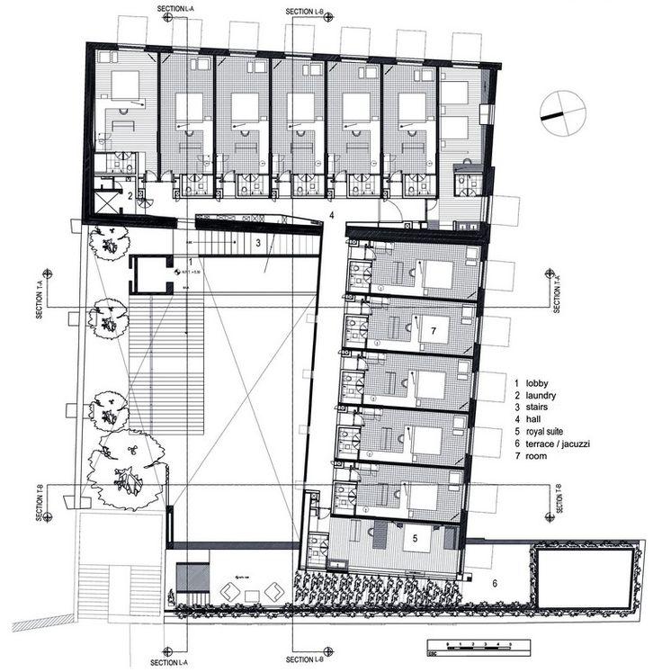 Serrano Monjaraz Arquitectos | Hotel La Purificadora // planta alta