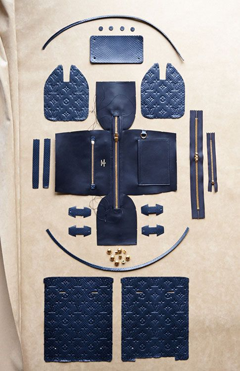 The Making of a Louis Vuitton Speedy Bag by CR Fashion Book