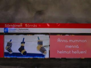 Street Art of North: Ole hyvä Helsinki, Sörnäinen, metrotaidetta