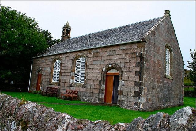 Isle of Iona - Iona Parish Church designed by Thomas Telford