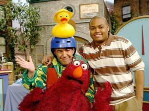 Gilbert Gottfried and Telly on Sesame
