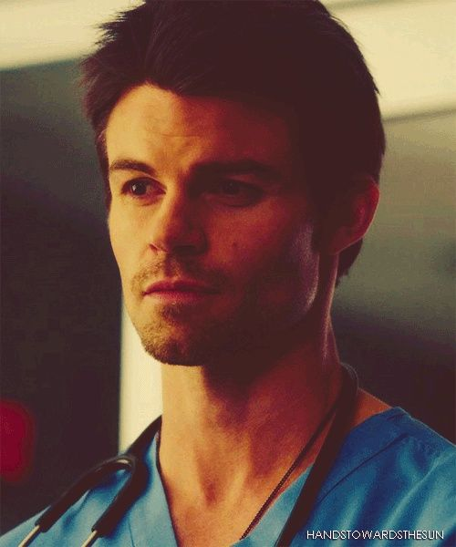 Daniel Gillies as Dr. Joel Goran in Saving Hope