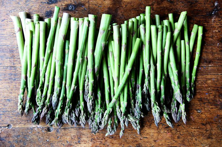 A simpler way to prepare asparagus, plus a clever dressing to put on all of your salads this season.
