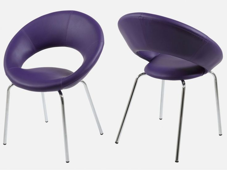 Krzesło Plump III fioletowe marki Actona - sfmeble.pl