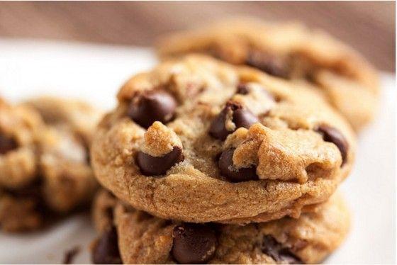 Печенье с кусочками шоколада-каплями #Рецепты #Еда #вкусно #ням #кулинария #вкусняшка #Выпечка #Десерт #сладости #Печенье #шоколад #Рецепты_тут
