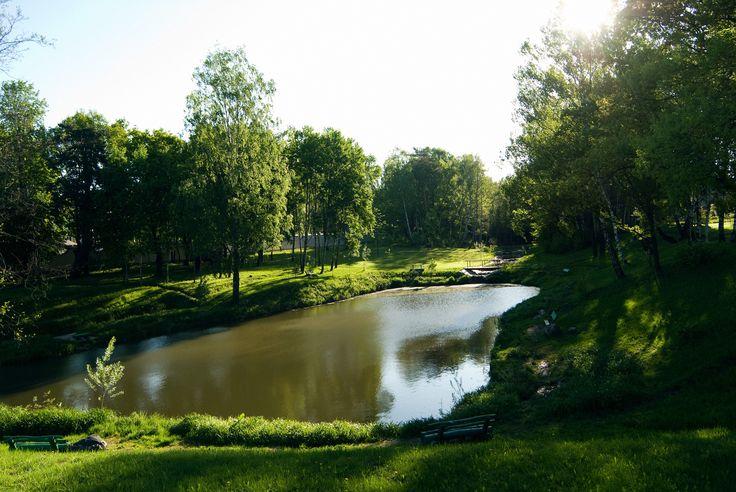Мини-пруд в Дубровке