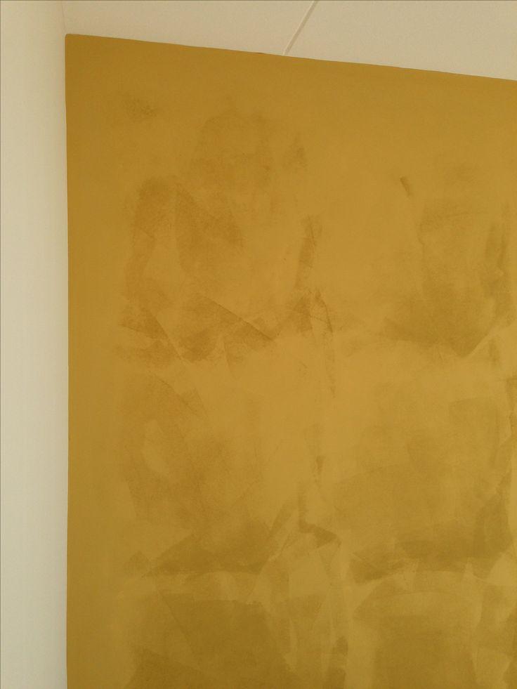 Ecotec natural paints. Leemverf in droging
