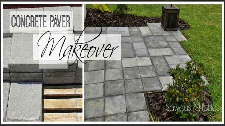 Using CHEAP Concrete Block , You Can Create The Look Of Stone Pavers! |  Remodelaholic Contributors | Pinterest | Concrete, Stone And Create.