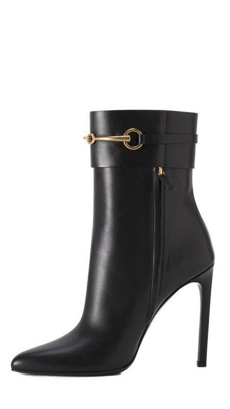 Chic Gucci bootie! | www.ScarlettAvery.com