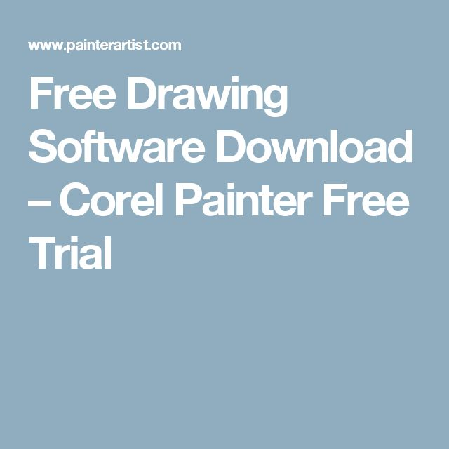 Cool Free Drawing Software Download u Corel Painter Free Trial