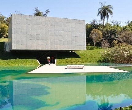 Inhotim ,museu de arte contemporânea a céu aberto, em Brumadinho
