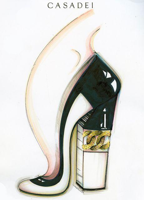 Casadei's Sketch  #Chain pump