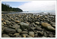 Sombrio Beach at Low Tide, Sooke, BC