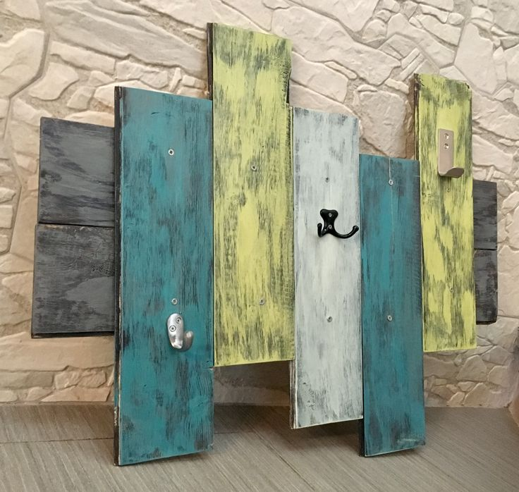 Attaccapanni shabby chic | Homes | Pinterest | Pallets ...