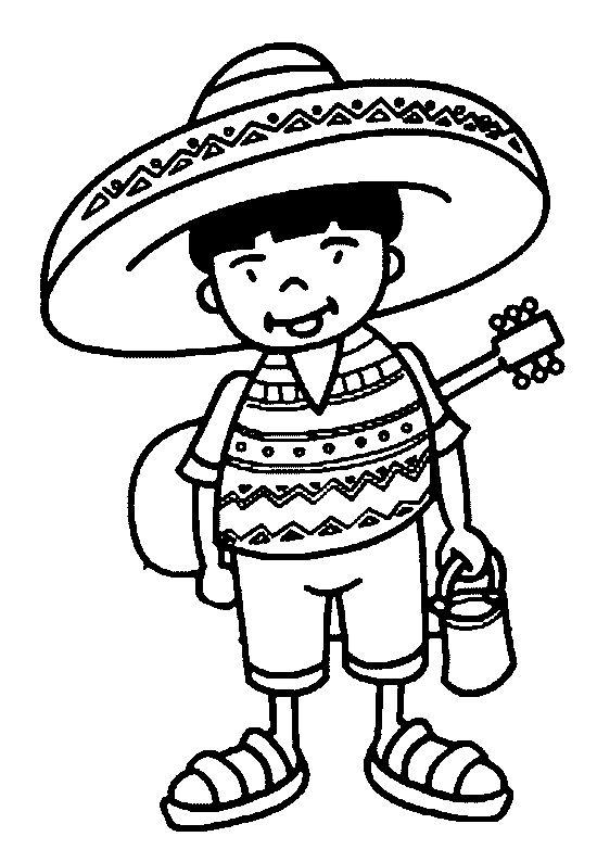 coloriage_de_mexicain_