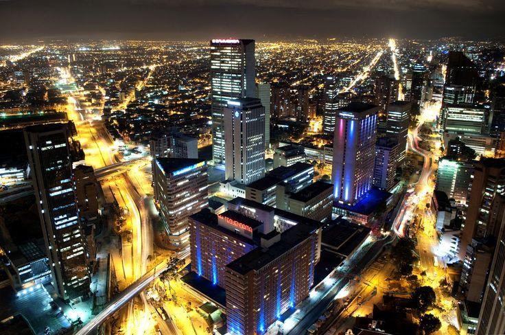 Nocturnal Bogota - Bogota Urbe Nocturna | Flickr - Foto de CAUT