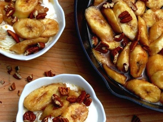 Butterscotch Bananas with Vanilla Ice Cream.: Butterscotchbanana, Ice Cream I, Ice Cream Cups, Vanilla Ice Cream, Bananas Recipes, Bacardi 151, Noble Pigs, Bananas Ice, Butterscotch Bananas