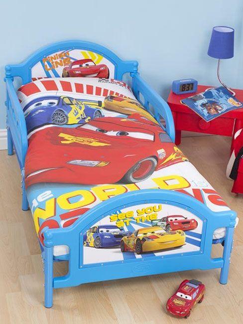 Disney Cars Speed Junior Toddler Bed Duvet Cover Pillowcase Set    Disney