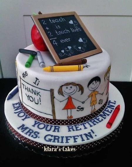 Cake Decoration School : 25+ Best Ideas about School Cake on Pinterest Teacher cakes, Definition of polymer and Art ...