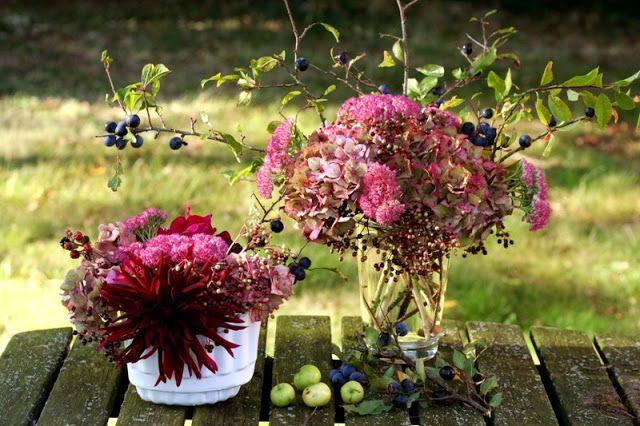 Arranjos Florais de Outono //  Arranging Autumn Flowers