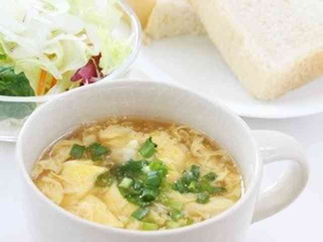 超簡単!「ふわふわとろ~りたまごスープ」の画像