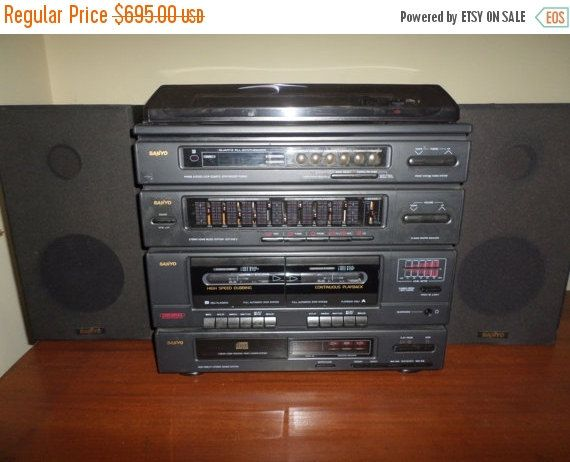 Save 75 today vintage early 90 39 s sanyo gcd949u home for Classic house cd