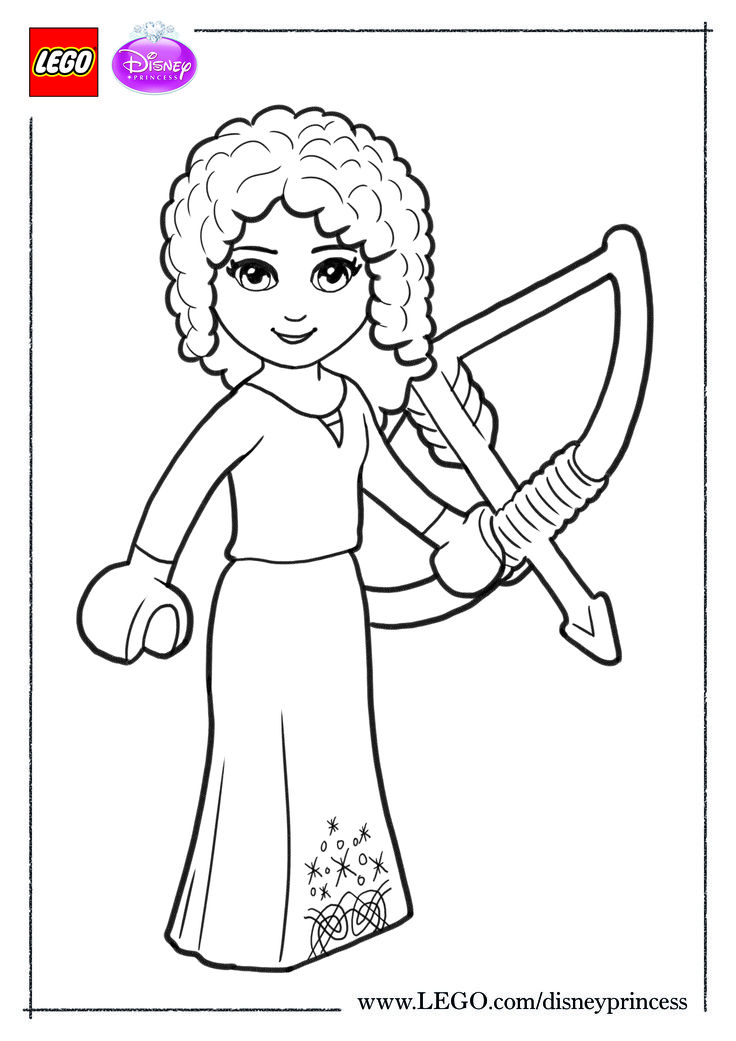 lego coloring pages for girls - photo #35