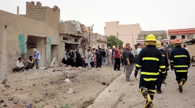 Kerkük'te, Arapların yoğun olduğu bir semtte bomba yüklü bir araç infilak etti. #ıraq #kerkük