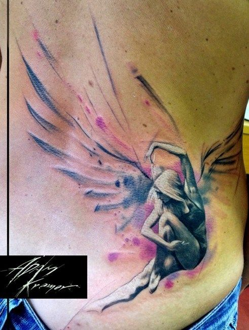 30 Angel Tattoo Designs Tattoos For Women And Girls Wing Tattoos