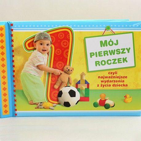 Ciekawa książeczka dla maluszka, bardzo ładnie wydana, na grubym papierze kredowym - z miejscem na zanotowanie najważniejszych wydarzeń z życia dziecka.