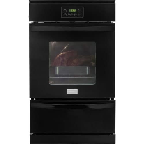 Frigidaire FFGW2415Q 24 Inch Wide 3.3 Cu. Ft. Capacity Natural Gas Single Oven w (Stainless Steel (Silver))