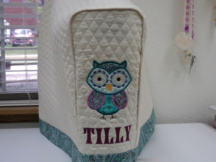 Cover For My Babylock Tiara Tilly Machine Quilting