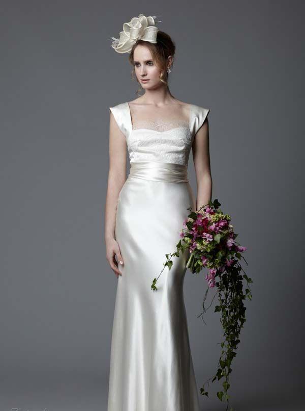 Dresses, Vintage Style Wedding Dress Straps Sleeveles: Astral Sundholm for  Circa Brides 2014 Wedding