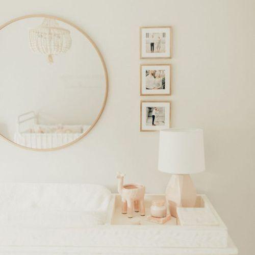 Nursery Pink Pale Sweet, décor de chambre à coucher fille   – Project Nursery