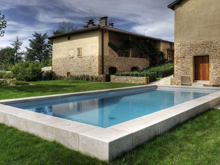 1000 images about piscines esprit nature on pinterest - Revetement piscine pierre naturelle ...