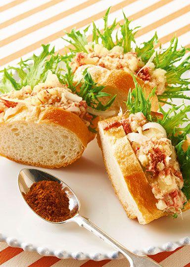 オリエンタルポテトサラダのバゲットサンド のレシピ・作り方 │ABCクッキングスタジオのレシピ | 料理教室・スクールならABCクッキングスタジオ