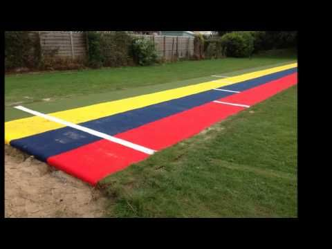 MultiSport™ Synthetic Surface Long Jump Upgrade - YouTube