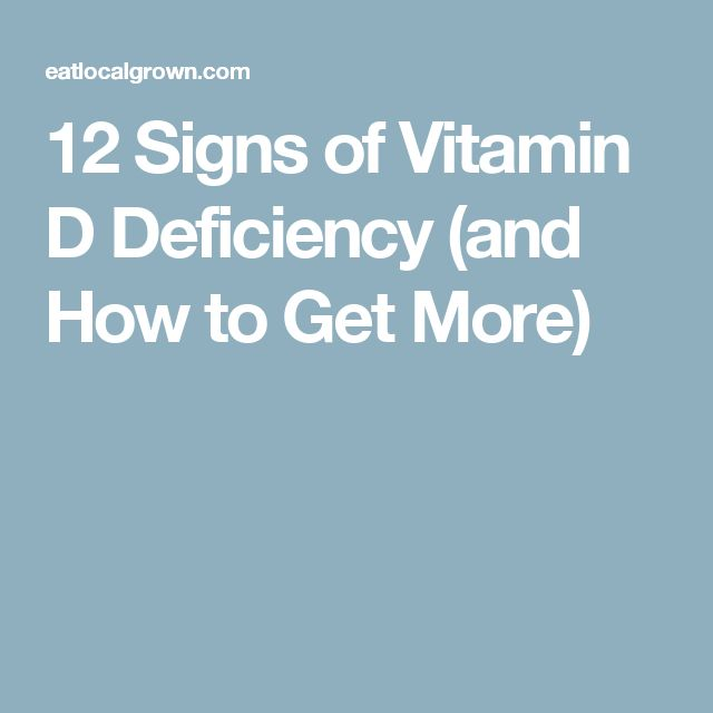 12 Signs of Vitamin D Deficiency (and How to Get More)