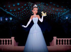Foto della principessa Tiana da costruire con la carta