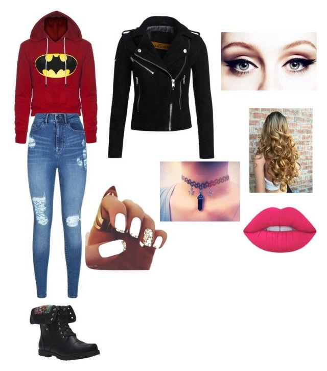 """""""✨"""" by lulu-la-luciole on Polyvore featuring mode, Lipsy, Wet Seal, Lime Crime et Superdry"""