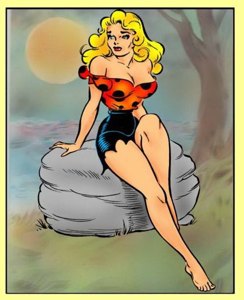 Daisey Mae, A Character In Al Capp's Comic Strip Lil Abner