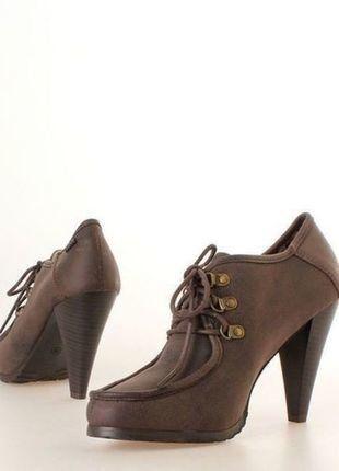 Compra mi artículo en #vinted http://www.vinted.es/zapatos-de-mujer/otros-zapatos/403281-zapatos-abotinados-marca-maria-mare