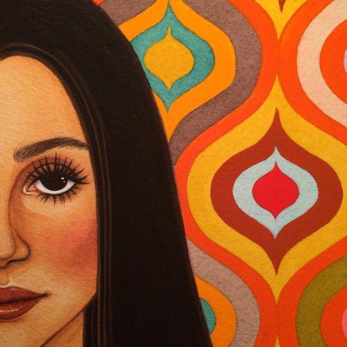 shannonknight:  Get pumped #Cher #70s #CherIsMyGoddess #illustration #painting
