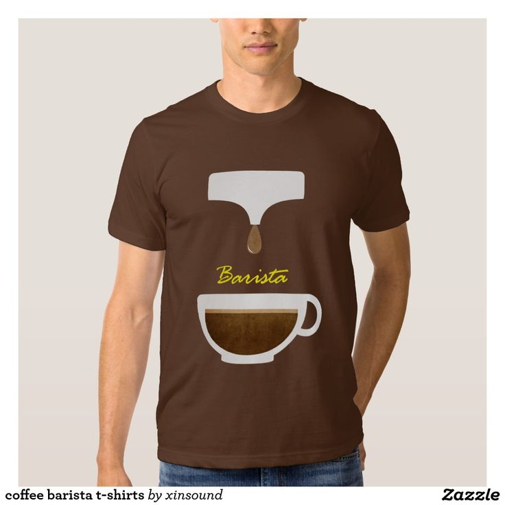 coffee barista t-shirts